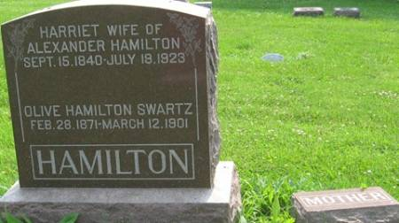 HAMILTON, HARRIET - Louisa County, Iowa | HARRIET HAMILTON
