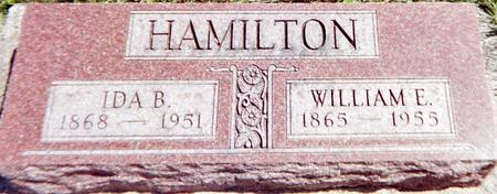 HAMILTON, WILLIAM E. - Louisa County, Iowa | WILLIAM E. HAMILTON