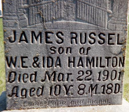 HAMILTON, JAMES RUSSELL - Louisa County, Iowa | JAMES RUSSELL HAMILTON