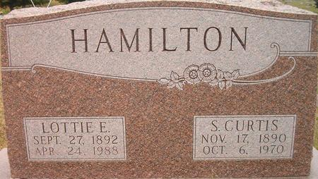 HAMILTON, LOTTIE E. - Louisa County, Iowa | LOTTIE E. HAMILTON