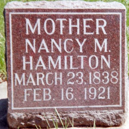 HAMILTON, NANCY M. - Louisa County, Iowa   NANCY M. HAMILTON