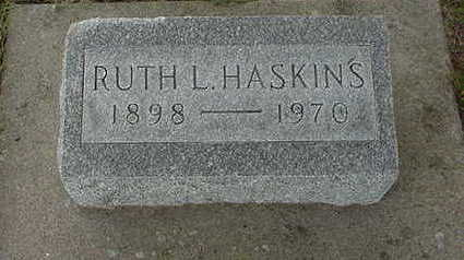 HASKINS, RUTH - Louisa County, Iowa | RUTH HASKINS