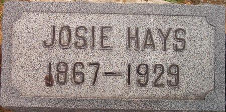 HAYS, JOSIE - Louisa County, Iowa | JOSIE HAYS