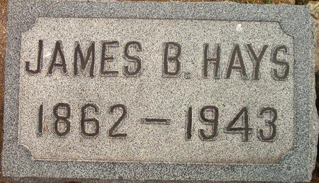 HAYS, JAMES B. - Louisa County, Iowa | JAMES B. HAYS