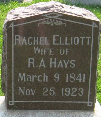 HAYS, RACHEL - Louisa County, Iowa | RACHEL HAYS