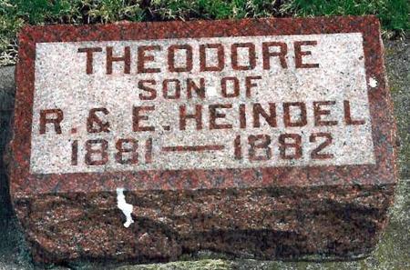 HEINDEL, THEODORE - Louisa County, Iowa | THEODORE HEINDEL
