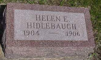 HIDLEBAUGH, HELEN - Louisa County, Iowa | HELEN HIDLEBAUGH