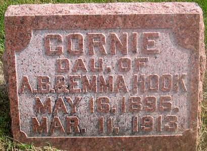 HOOK, CORNIE - Louisa County, Iowa | CORNIE HOOK