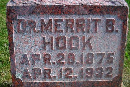 HOOK, DR. MERRIT B. - Louisa County, Iowa | DR. MERRIT B. HOOK