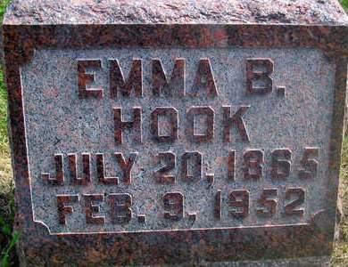 HOOK, EMMA B. - Louisa County, Iowa | EMMA B. HOOK