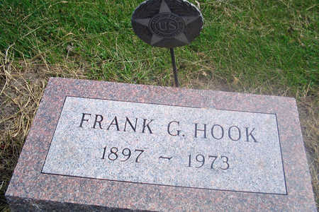 HOOK, FRANK G. - Louisa County, Iowa | FRANK G. HOOK