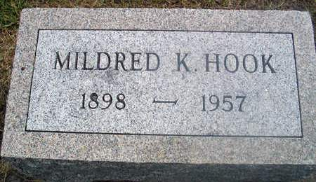 HOOK, MILDRED K. - Louisa County, Iowa | MILDRED K. HOOK