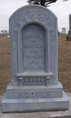 HOOVER, ISRAEL - Louisa County, Iowa | ISRAEL HOOVER