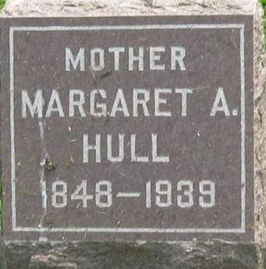 HULL, MARGARET A. - Louisa County, Iowa | MARGARET A. HULL