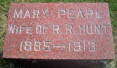 HUNT, MARY PEARL - Louisa County, Iowa | MARY PEARL HUNT