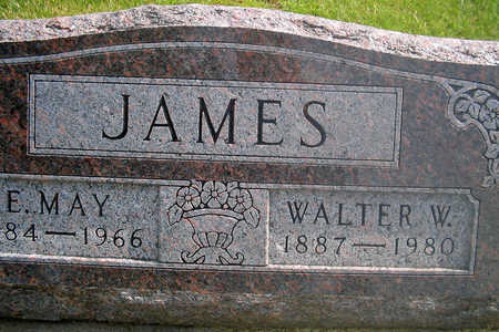 JAMES, WALTER W. - Louisa County, Iowa | WALTER W. JAMES
