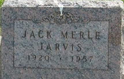 JARVIS, JACK - Louisa County, Iowa | JACK JARVIS