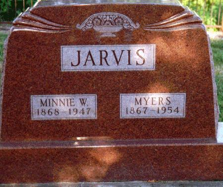 JARVIS, MINNIE - Louisa County, Iowa | MINNIE JARVIS