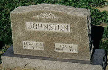 JOHNSTON, IDA M. - Louisa County, Iowa | IDA M. JOHNSTON