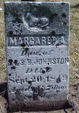 JOHNSTON, MARGARET A. - Louisa County, Iowa | MARGARET A. JOHNSTON