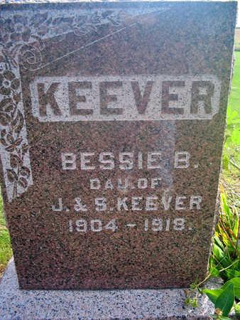 KEEVER, BESSIE B. - Louisa County, Iowa | BESSIE B. KEEVER
