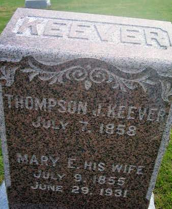 KEEVER, THOMPSON J. - Louisa County, Iowa | THOMPSON J. KEEVER