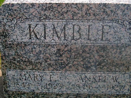 KIMBLE, ANSEL W. - Louisa County, Iowa | ANSEL W. KIMBLE