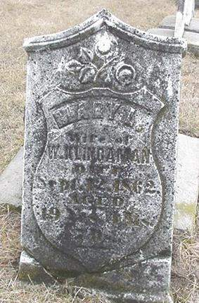 KLINGAMAN, MARY - Louisa County, Iowa | MARY KLINGAMAN