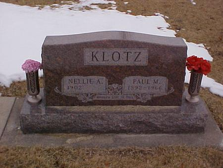 KLOTZ, PAUL M. - Louisa County, Iowa | PAUL M. KLOTZ