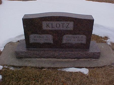 KLOTZ, MARGE L. - Louisa County, Iowa | MARGE L. KLOTZ