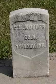 KOODER/KUDER, G. M. - Louisa County, Iowa | G. M. KOODER/KUDER