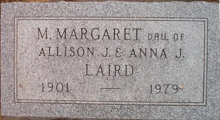 LAIRD, M. MARGARET - Louisa County, Iowa | M. MARGARET LAIRD