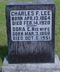 EDWARDS LEE, DORA E. - Louisa County, Iowa | DORA E. EDWARDS LEE