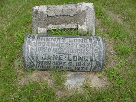 LONG, HENRY - Louisa County, Iowa | HENRY LONG