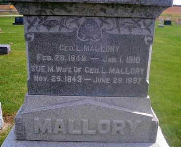 MALLORY, GEORGE L. - Louisa County, Iowa | GEORGE L. MALLORY