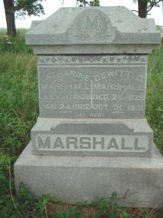 MARSHALL, CATHARINE - Louisa County, Iowa | CATHARINE MARSHALL
