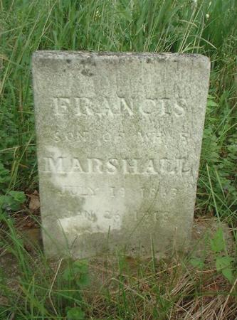 MARSHALL, FRANCIS - Louisa County, Iowa | FRANCIS MARSHALL
