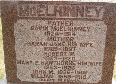MCELINNEY, WILLIAM - Louisa County, Iowa | WILLIAM MCELINNEY