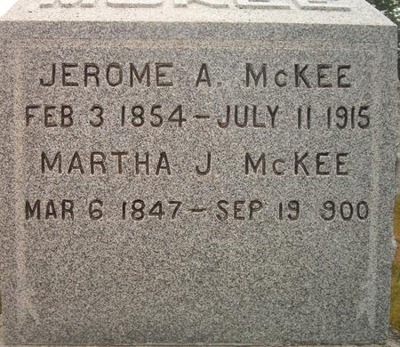 KCKEE, MARTHA J. - Louisa County, Iowa | MARTHA J. KCKEE