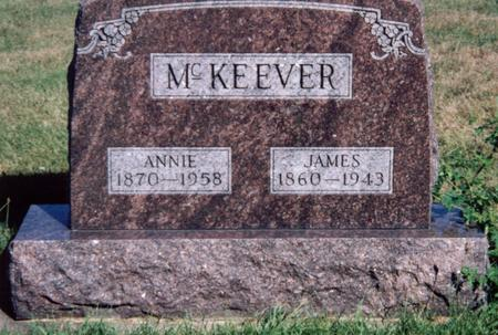 MCKEEVER, JAMES - Louisa County, Iowa | JAMES MCKEEVER