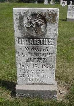 MCNEMER, ELIZABETH S. - Louisa County, Iowa | ELIZABETH S. MCNEMER