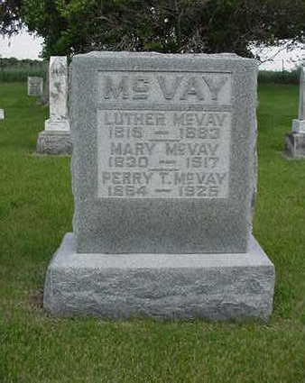 MCVAY, MARY - Louisa County, Iowa | MARY MCVAY