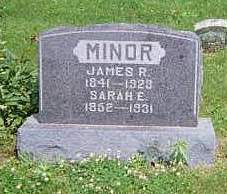 MINOR, JAMES R. - Louisa County, Iowa | JAMES R. MINOR
