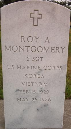 MONTGOMERY, ROY A . (MILITARY) - Louisa County, Iowa | ROY A . (MILITARY) MONTGOMERY