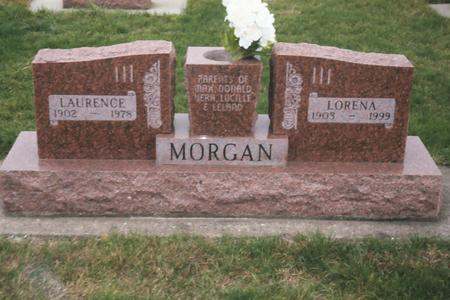 MORGAN, LAURENCE - Louisa County, Iowa | LAURENCE MORGAN