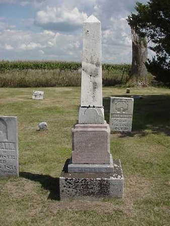MOSER, WILLIAM - Louisa County, Iowa | WILLIAM MOSER