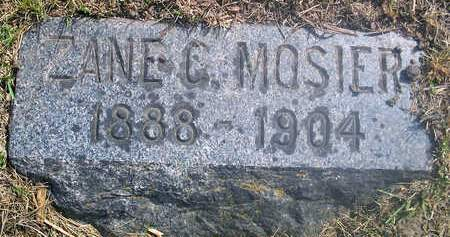 MOSIER, ZANE C. - Louisa County, Iowa | ZANE C. MOSIER