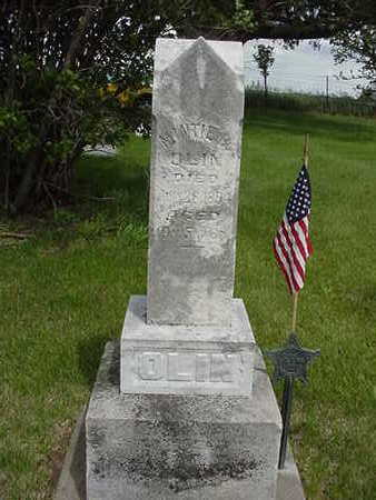 OLIN, MINTIE B. - Louisa County, Iowa | MINTIE B. OLIN