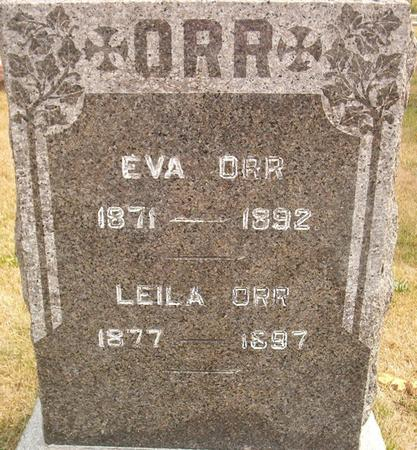 ORR, LEILA - Louisa County, Iowa | LEILA ORR