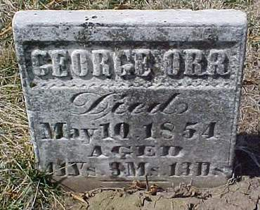 ORR, GEORGE - Louisa County, Iowa | GEORGE ORR